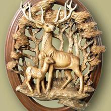 Files Aspire Engraver-Carving-Machine Stl-Model Cnc Router Reindeers 3d for Relief-Artcam
