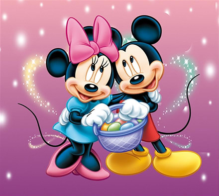 Mickey Mouse Painting Pictures