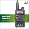 Envío Gratis 8 W/4 W/1 W Baofeng UV-5R plus Wireless Dual Band Walkie Talkie con Free auricular