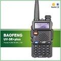 Frete Grátis 8 W/4 W/1 W Baofeng UV-5R plus Sem Fio Dual Band Walkie Talkie com Free fone de ouvido