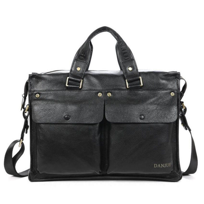 New Fashion Men Bags Men's Shoulder Bag Famous Brand Design Genuine Leather Messenger Bag Casual Travel bag