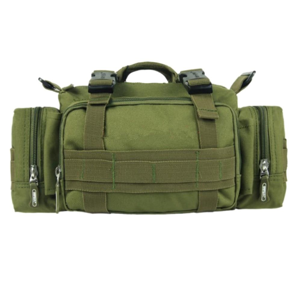 Prix pour En plein air Militaire Tactique Duffle Taille Sacs Sac À Dos Petit Poches Caméra Sac Camping Voyage Épaule Sac