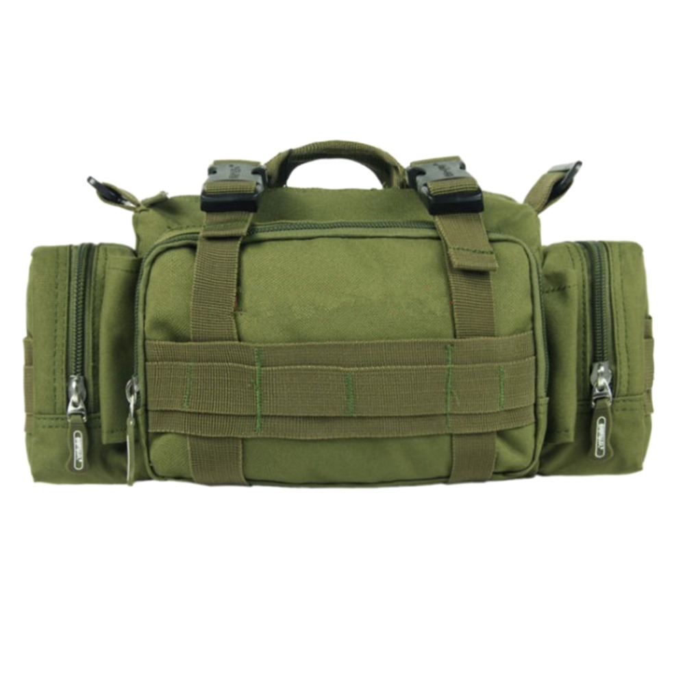 Outdoor Military Tactical Duffle Waist Bags Backpack Small Pockets Camera Bag Camping Travel Shoulder Bag outlife new style professional military tactical multifunction shovel outdoor camping survival folding spade tool equipment