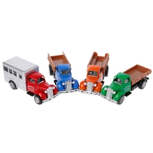 Working Truck Vintage Vehicles Model Kids Playing Car Toy Roleplay Action W15
