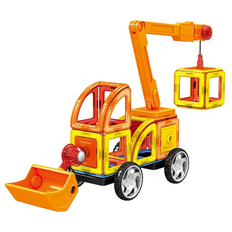 Mini 60Pcs / Lot Magnetic Designer Construction Set Model & Building - Կառուցողական խաղեր - Լուսանկար 3