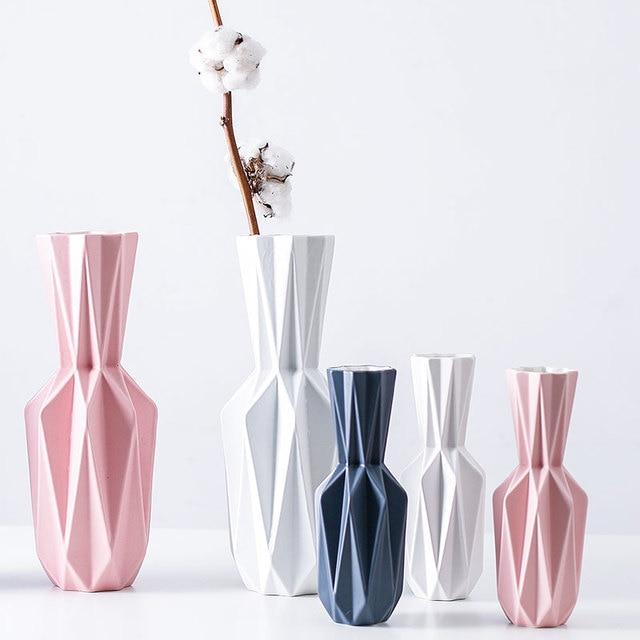The Origami Vases Ceramic Tabletop Big Vase Home Decoration Vase