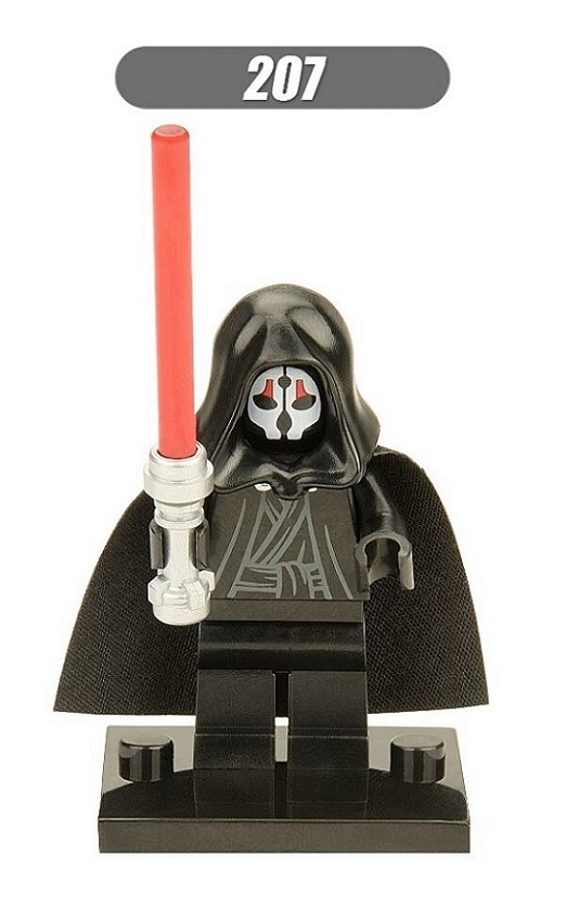 XH 207 20Pcs Avengers Building Blocks Model Darth Nihilus With Red Lightsaber Figures Super Heroes Blocks Action Kids Bricks