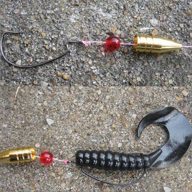 100 pièces balle forme cuivre carpe pêche dos gabarit tête plombs plombs moules pour pêche hameçon ligne plombs Kit poids accessoires
