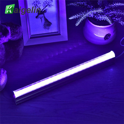อุปกรณ์ DJ, LED UV Black Light ติดตั้งแบบพกพา 30 ซม.สีดำ UV Light LED Strip ไฟปาร์ตี้คริสต์มาสปาร์ตี้ตกแต่ง