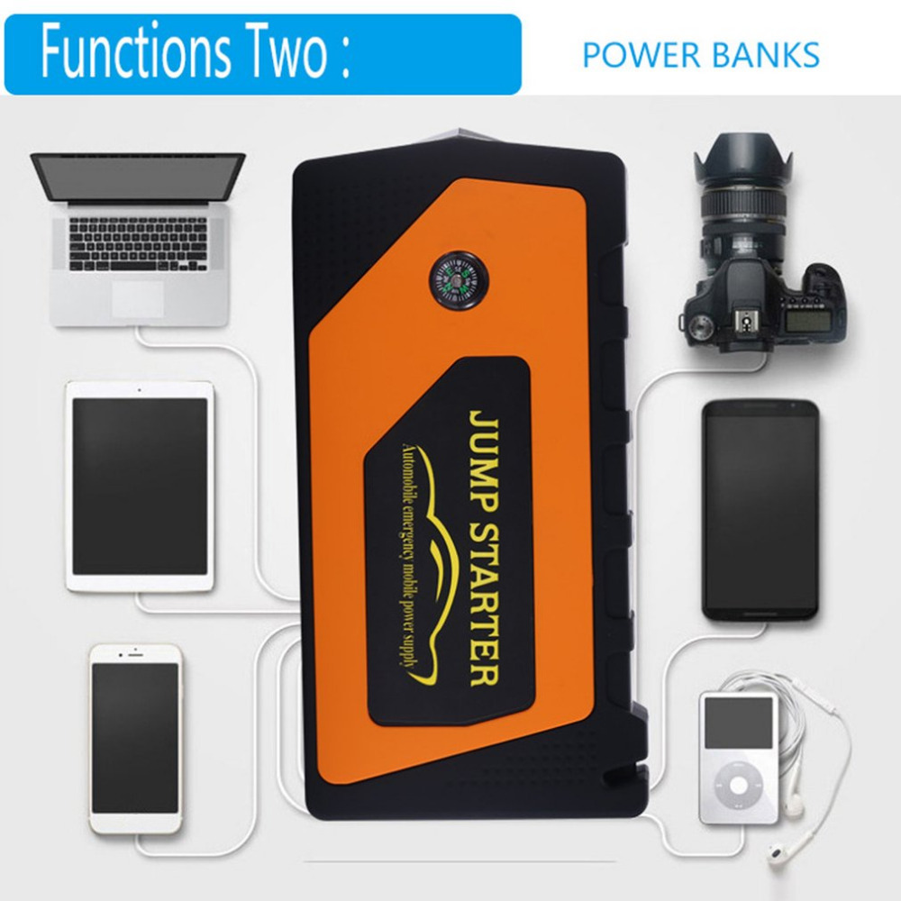 18000mAh Automobile Emergency Mobile Power Supply Portable Mini Car Start Battery Charge ...