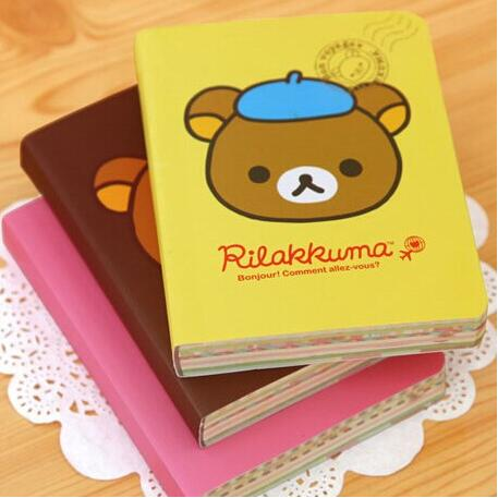 Shop For Cheap 10pcs/lot New Cute Cartoon Rilakkuma Style Diy Mini Notebook/notepad Memo/diary Wholesale Wj205 Without Return Notebooks & Writing Pads Notebooks