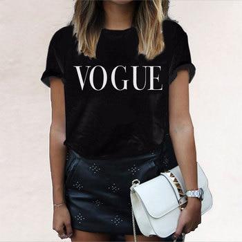 f5e0ee1ae De moda Casual de las mujeres camisas calle verano Slim negro T camisa las  mujeres 2019 planeta impresión Slim Tops camisetas