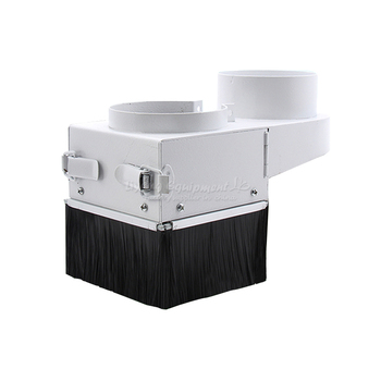 Woodworking cnc machine suction hood Spindle Motor dust cover engraving machine accessories dust guard for spindle 300w 400w 500w spindle engraving machine spindle motor air cooling cnc spindle dc motor cnc engraving machine 0 3kw 0 4kw 0 5kw
