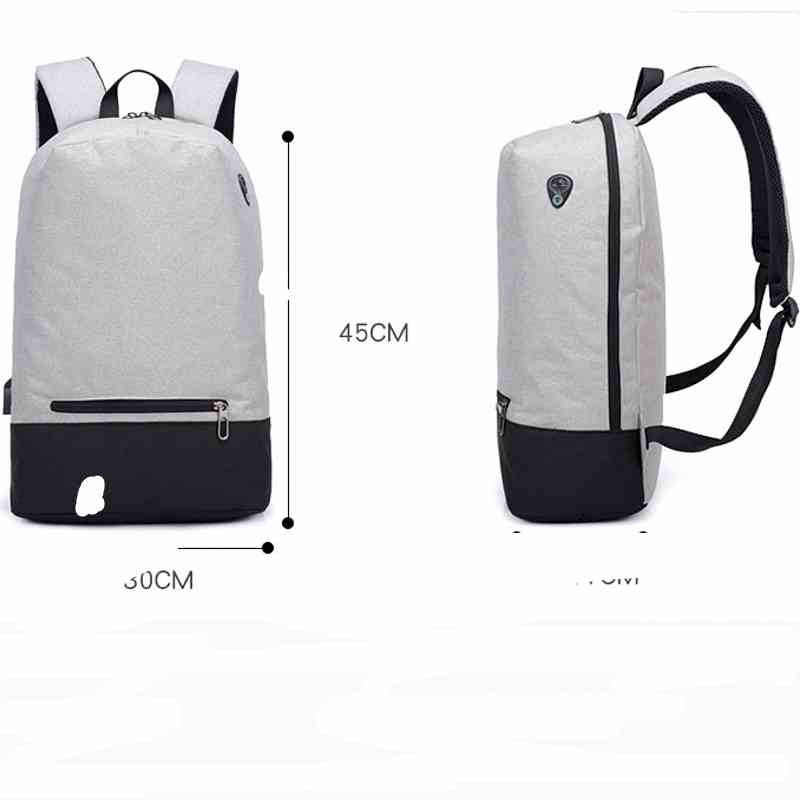 Teenager 15inch Laptop Backpack - Multifunction w/ USB charging 1