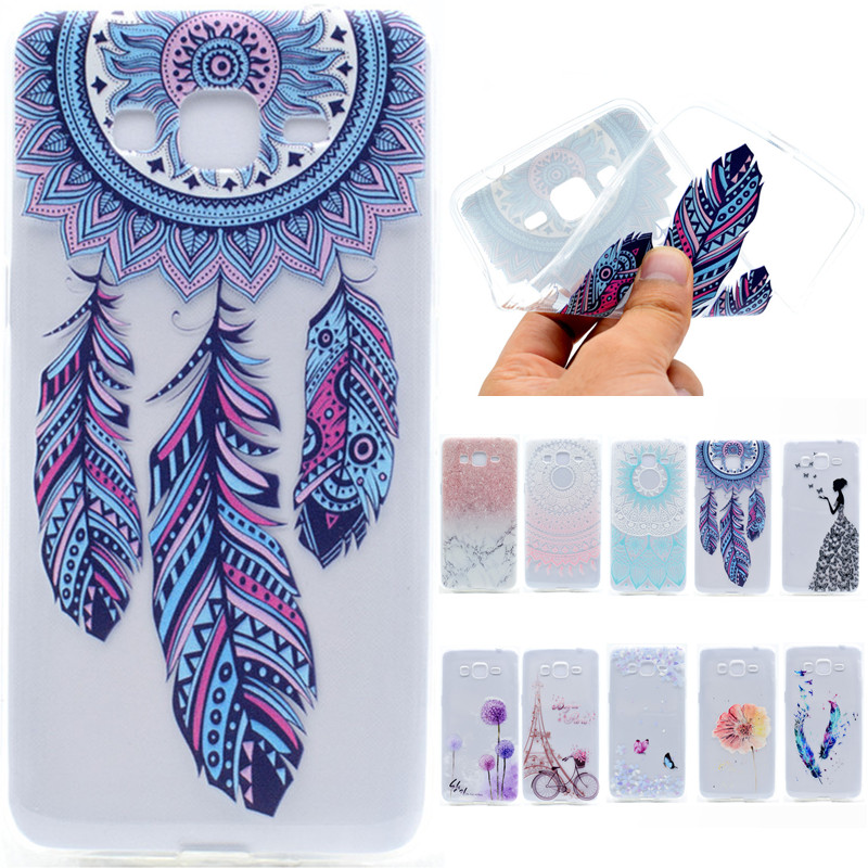 cute cartoon paris tower flower butterfly girl tpu soft fundas case for samsung galaxy grand. Black Bedroom Furniture Sets. Home Design Ideas