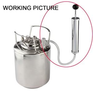 Image 5 - Yeni bira fıçısı hava pompası, Co2 pompası gaz topu kilidi, bira keg Tap kiti homebrew kegging