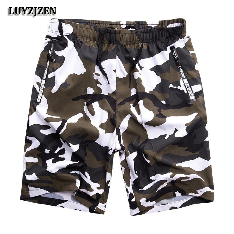Summer Wholesale Men's Board Shorts Quick Dry Beach Shorts Bermudas Masculina Camouflage Men Boardshorts Big Plus Size 8XL K183