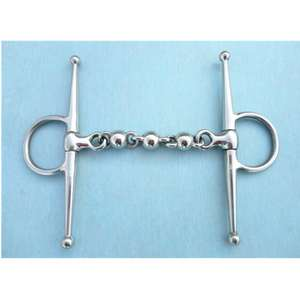 Stainless Steel Full Cheek Bit Horse Product  Waterford Mouth Horse Equipment