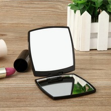 Double Side Makeup Mirror Portable Small Cute Mirror With One Magnifying Mirror And One Normal Mirror