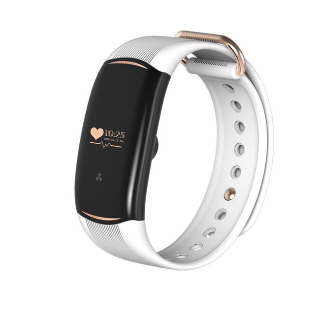 Heart Rate Monitor de Presión Arterial Inteligente Muñequera Actividad Física Rastreador Reloj para iOS Android Teléfono Inteligente Pulsera Banda de Ajuste