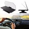 Универсальный Автомобильный GPS HUD Head Up Display Держатель для iPhone Samsung Smart Мобильный Телефон Автомобиль Мобильной Навигации Кронштейн Черный