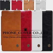 NILLKIN Подлинная кошелек кожаный чехол для Sony Xperia XA/Xperia XA Dual 5.0 дюймов принципиально телефон случаях кожи + защита экрана