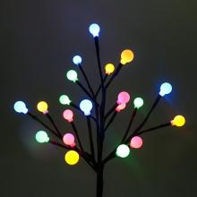LED Solar Power Tree Light Outdoor Garden Lawn Landscape Lamp 20 LEDs Solar Lamp Decoration цена