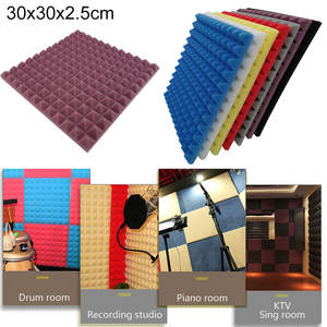 Foam-Panel Sponge Soundproof-Accessories Acoustic Studio Home Absorption 1pcs KTV New-Products