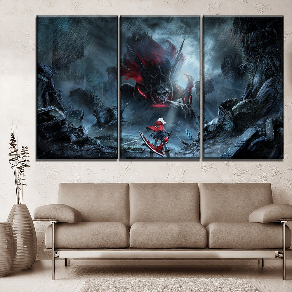 God Of War 4  New Game Silk Poster Prints 13x20 24x36 inch Kratos