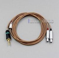 LN004822 1.2m Stereo Earphone DIY PURE SILVER Conductors Cable + PEP Insulated For Sennheiser HD800 hd820 hd800s hd820 Headphone