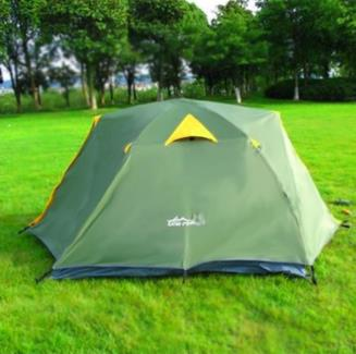 Upgraded Version of 3-4 People Fully Enclosed Automatic Tent Outdoor Double-Layer Rainproof Camping Tent