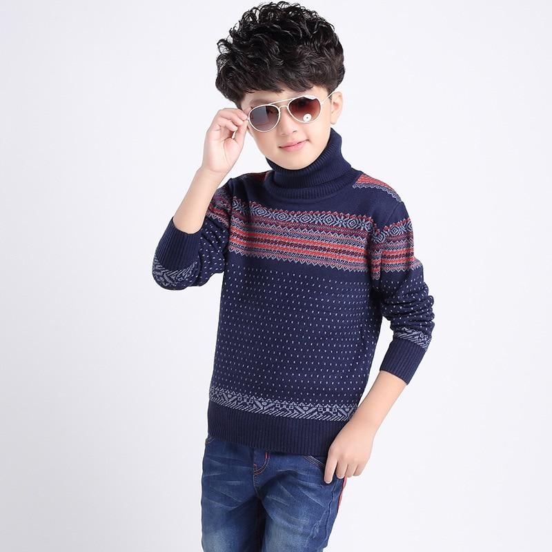 От 3 до 20 лет, детская одежда, вязаные свитера для мальчиков, свитер для студентов, подростков, свитер в стиле ретро для больших мальчиков, Дет