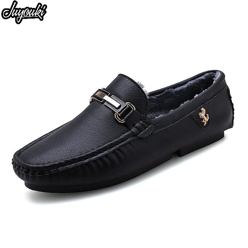 Sycatree Winter Sommer Echtem Leder Casual Schuhe für Männer Ferrari Warme Pelz Baumwolle Schuhe Outdoor Turnschuhe Wohnungen Zapatos Hombre