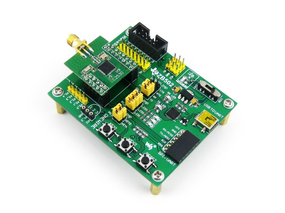 module CC2530 Eval Kit ZB502 Core2530 CC2530F256 Zigbee Wireless Development Evaluation Board Kit usb serial rs485 rs232 zigbee cc2530 pa remote wireless module