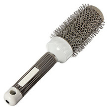 Hair Brush Ceramic Iron Round Comb Barber Dressing Salon Styling(25mm)