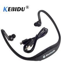 Kebidu אלחוטי Bluetooth אוזניות סטריאו חיצוני ספורט ריצת אוזניות אוזניות עם מיקרופון עבור iphone סמסונג Xiaomi huawei