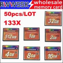 Yüksek kalite 50 adet/grup yüksek hızlı 133X kompakt flash CF kart 1GB 2GB 4GB 8GB 16GB 32GB 133X SLC MLC canon Nikon CNC