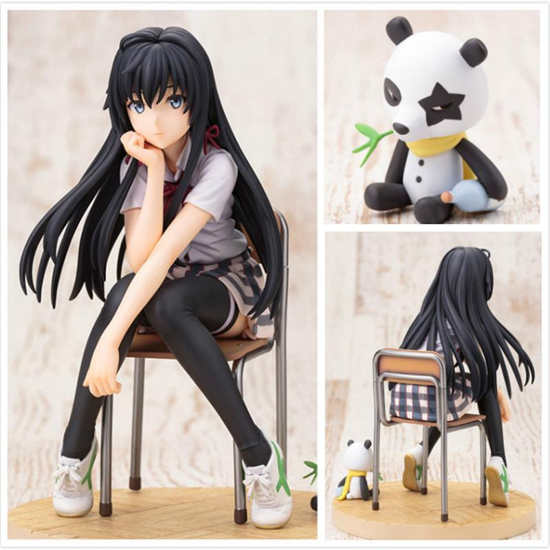 ФОТО Yukinoshita Yukino PVC Action Figure Toy Set Japanese Anime Figures Sculted My youth Romantic Comedy is Wrong as I Expected
