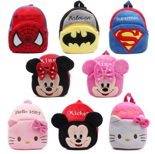 9d9e10d1a US $4.69  High Quality Children School Bag Plush Cartoon Toy Baby Backpack  Boy Gril School Bags Gift For Kids Backpacks mochila escolar-in School Bags  ...