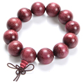 Chinese Style Violet Roland Prayer Beads Bracelet Bangle 2016 Wrist Ornament Wood Buddha Bracelet Prayer Men Jewelry