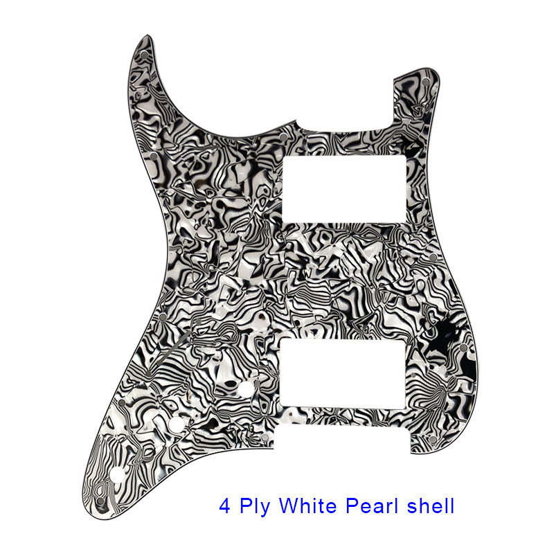 4 ply white pearl shell ST HH pickguard