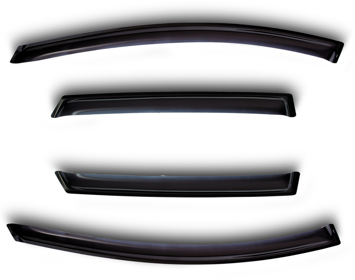 Window Deflectors 4 Door RENAULT SANDERO, HB 2014-(4 pieces, dark) отсутствует м хобби 4 154 2014