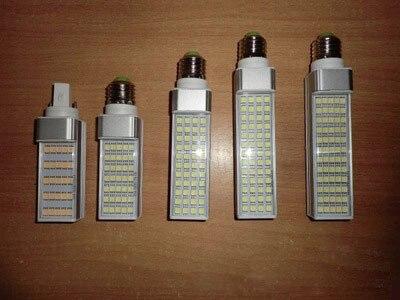 Free Shipping Lampada E27 G24 <font><b>G23</b></font> 6W AC85-265V Horizontal Plug lamp SMD2835 Bombillas <font><b>LED</b></font> PL Corn <font><b>Bulb</b></font> Spot light Lighting