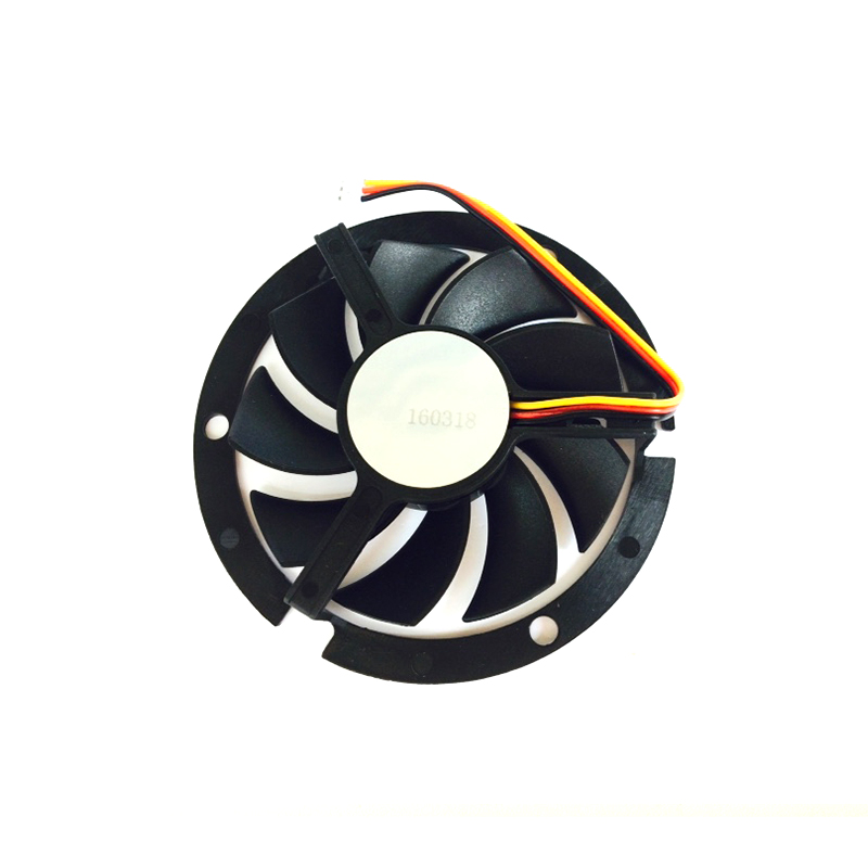 Image 4 - Computer Cooling Fan 80*80*15mm 2200RPM CPU Round 12V Cooler Fans Black round box fan bracket  YL 0045-in Fans & Cooling from Computer & Office