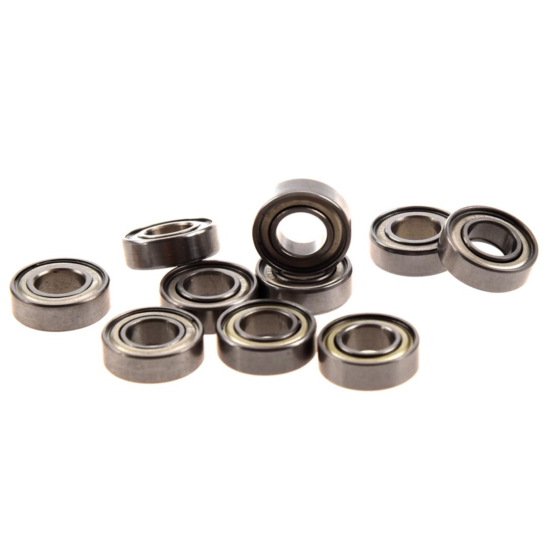 Wholesales 10 Pcs 698Z 8 x 19 x6mm Single Row Sealed Deep Groove Ball Bearings
