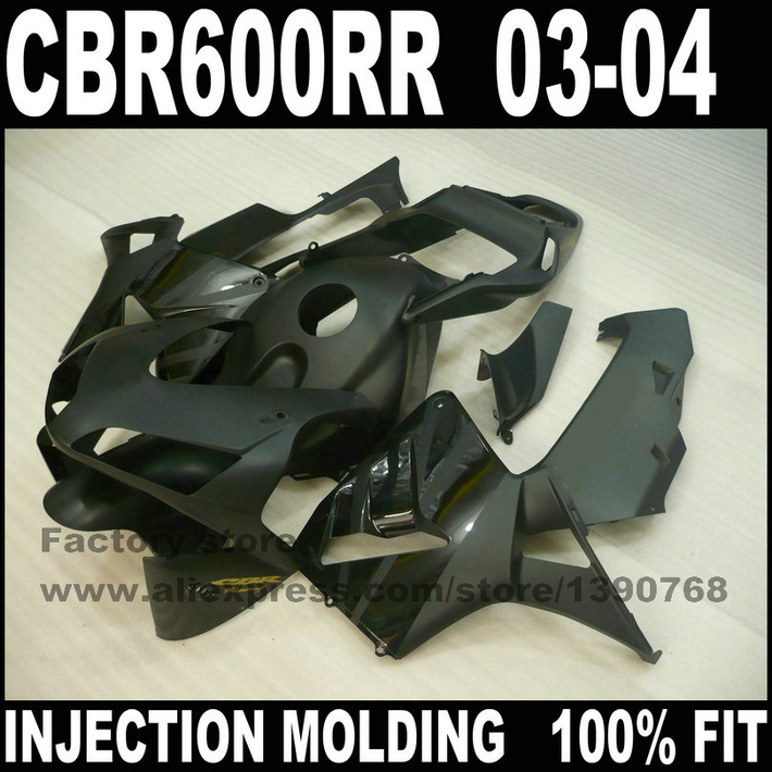 Injection motorcycle parts for  CBR 600 RR 2003 2004 CBR600RR F5 fairings set  03 04 CBR600 matte black fairing bodykits arashi motorcycle parts radiator grille protective cover grill guard protector for 2003 2004 2005 2006 honda cbr600rr cbr 600 rr