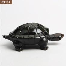 Маленькая Черепаха, украшение для дома, статуя, керамический чай, домашнее животное, настольное украшение, цветная маленькая черепаха, китайский чай, аксессуары
