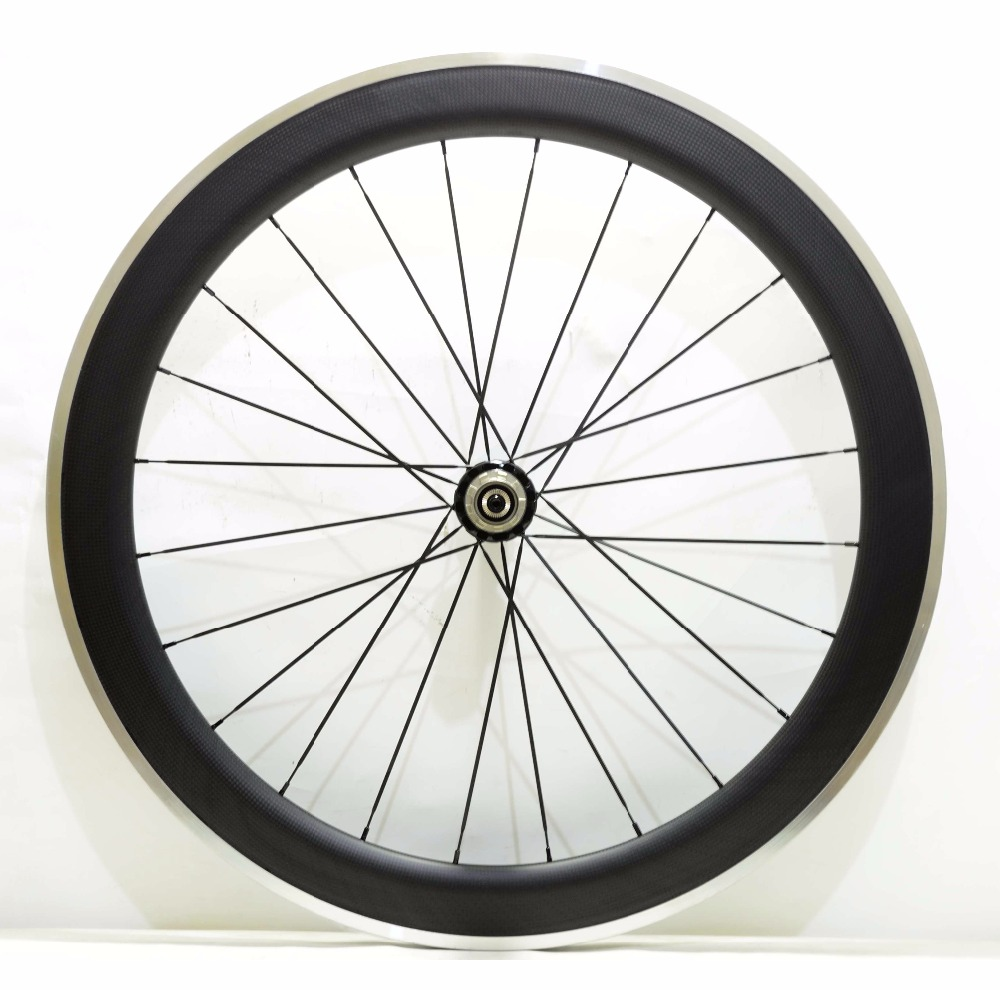 700C 60mm depth 23mm width Alloy brake surface carbon wheels road bicycle single rear carbon wheelset  3K matte finish x3 k9 android 4 4 3g wifi gps smart watch phone black