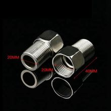 Extension-Tube Pipe-Fitting Hose-Straight-Connector Equal Stainless-Steel Bsp-Thread