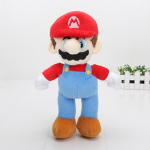 10 25 cm Super Mario bros pluszowa lalka s klasyczne postaciami z gry Super Mario i Luigi Yoshi Mario Maker wypchane pluszowe lalki zabawki tanie tanio League Of Loveliness LOL Puppets Wyroby gotowe Unisex One Size no fire 15-25cm 1 100 Remastered Version Dorośli 14 lat